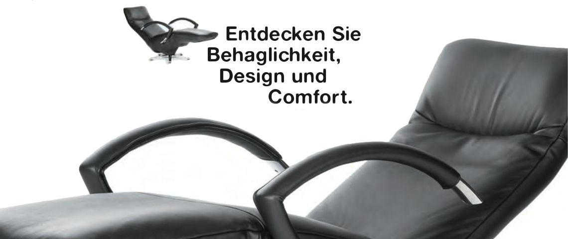 Tv sessel design  TV Sessel design meets comfort - Möbel Kissling AG