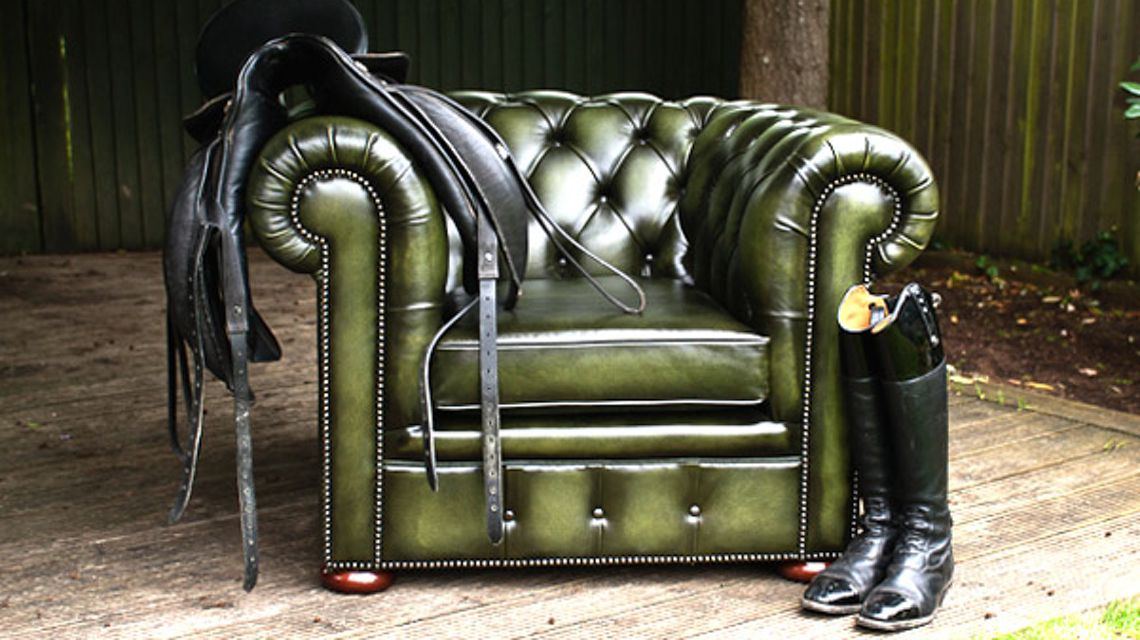 Chesterfield Sessel Original Englische